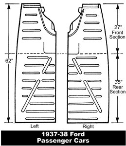 37 Ford Floor Pans